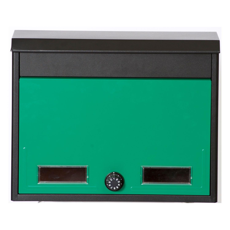 ケイジーワイ工業 KGY 郵便受け箱 メールボックス スタイルポスト グリーン SG-2L B0177MDW8U 12941 グリーン グリーン