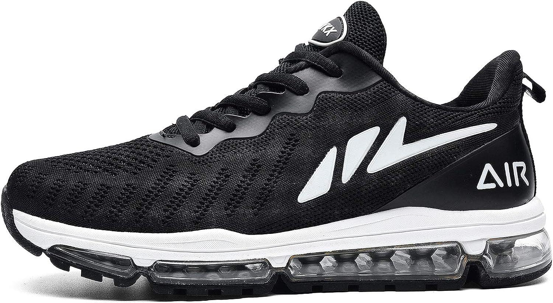 MAFEKE Women Air Running Shoes Cushion Tennis Breathable Casual Walking Sneakers (US5.5-10 B(M)