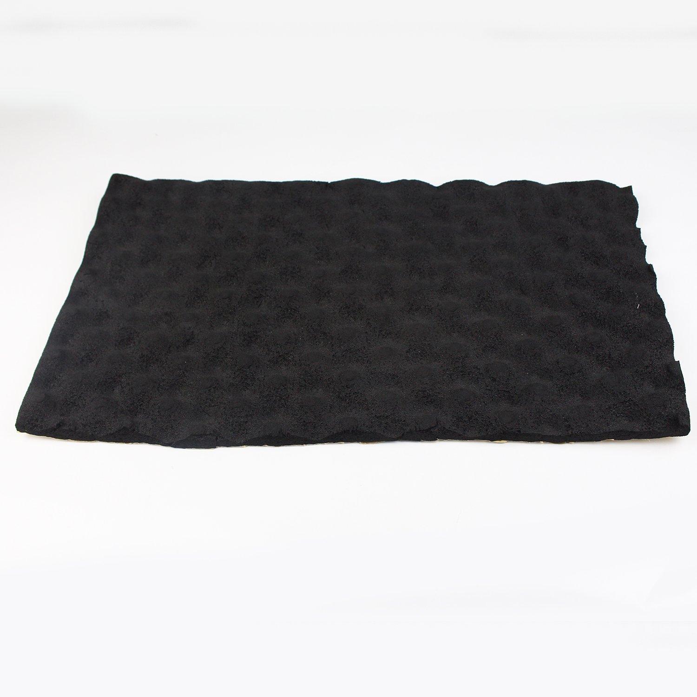 15mm Thickness Heat Proof Mat Black Adhesive For Noise Shield Proofing Proof Barrier Aluminum Foam Trunk Floor Mat Firewall Doors (288''x40)