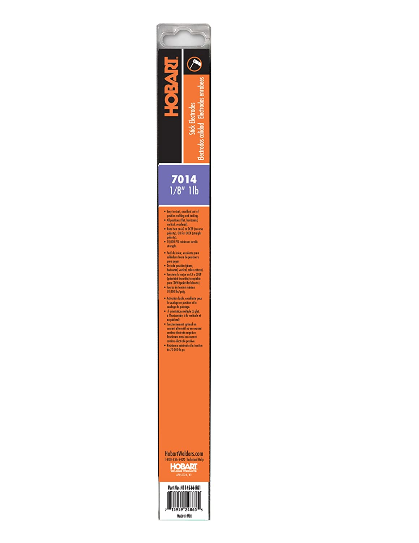 Hobart H114216-R01 1-Pound Plastic 7014 Stick Electrode 1//16-Inch