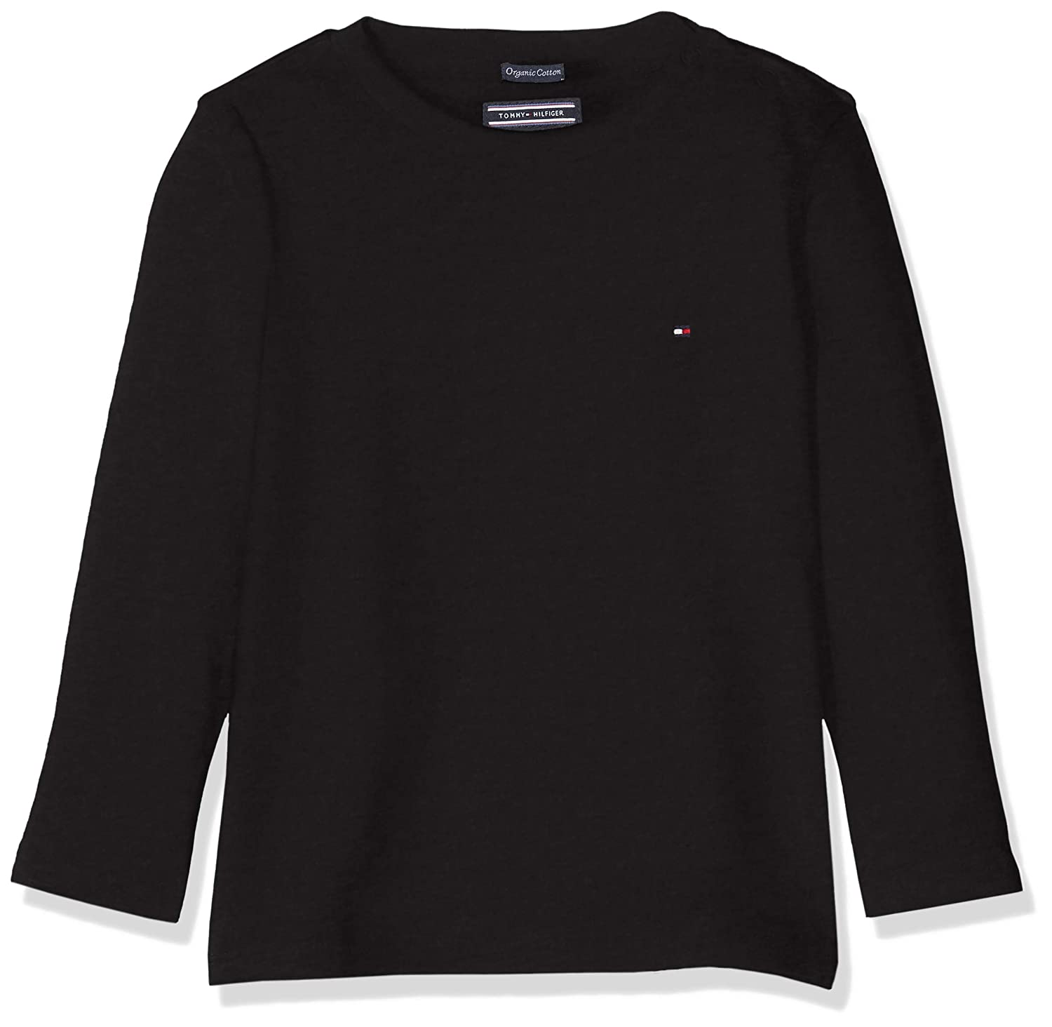 TOMMY HILFIGER Boys Basic CN Knit L//S T-Shirt Bambino