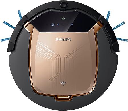 Philips Smart Pro Active FC8832/01 - Robot Aspirador con Control desde APP, 4 Modos de Limpieza, Alto Rendimiento en Suelos Duros, Sensores Infrarojos y Anticaida, 120 min Autonomia: Amazon.es: Hogar
