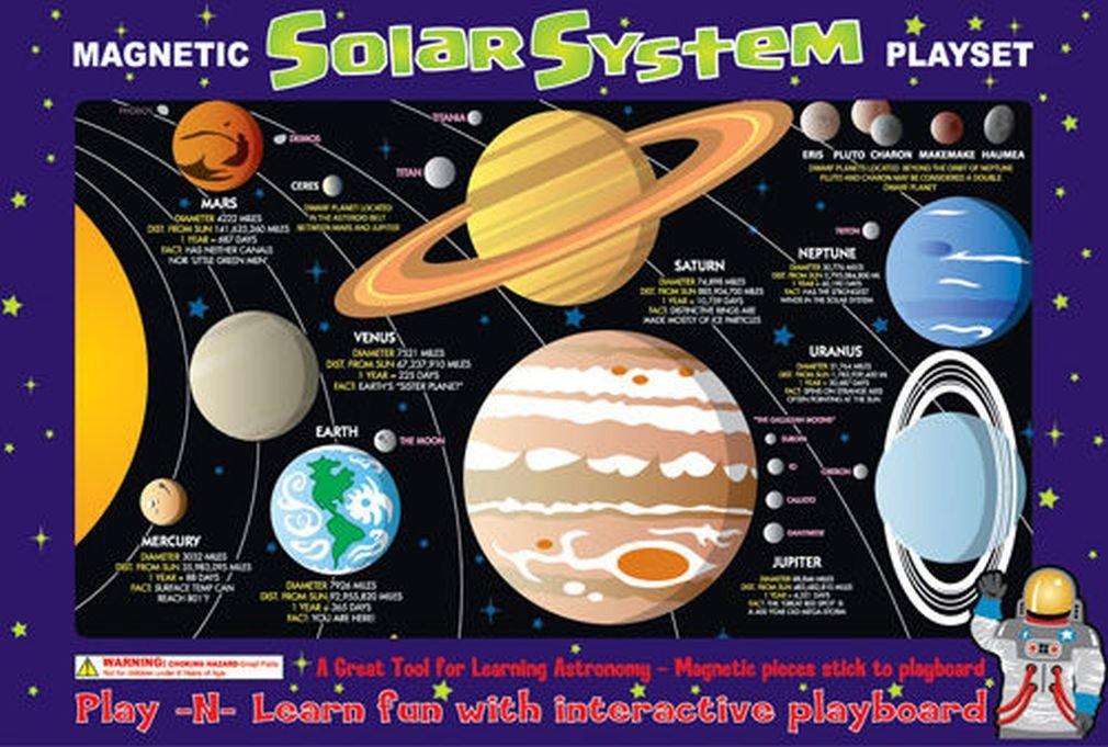 Ata-Boy Magnetic Solar System Play-n-Learn Board