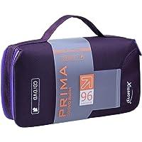 Newniu(R) Disc CD DVD Bag Case Holder Wallet Storage (96 CDs / Purple / Polyester)