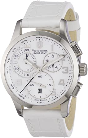 Image Unavailable. Image not available for. Color  Victorinox Swiss Army  Women s 241321 Alliance Mother of Pearl Chronograph ... b1676269ad