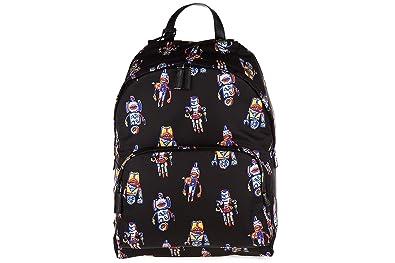 25a53099ffeac5 ... where to buy prada mens nylon rucksack backpack travel robot black  1bcb5 8c975