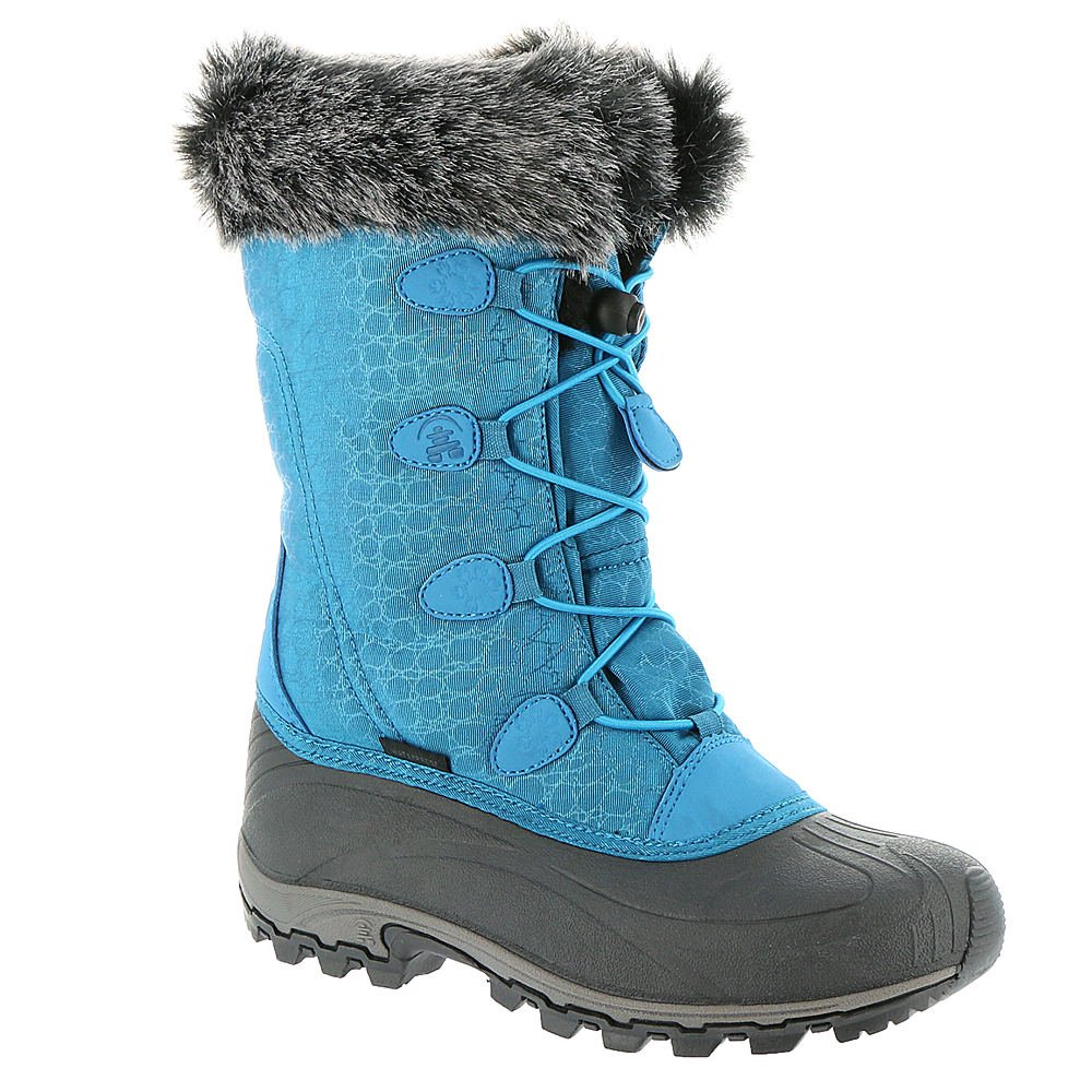Kamik Momentum Women's Waterproof Nylon Snow Boots Blue Size 10