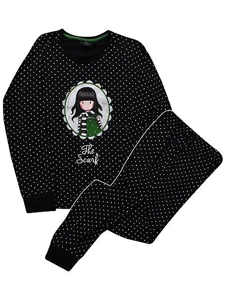 Santoro Gorjuss - Pijama - para Mujer Negro Negro X-Large