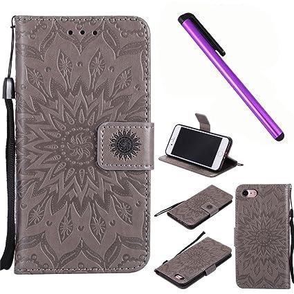 emaxelers iphone 8 flip case