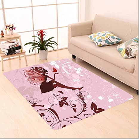 Amazon.com: Nalahome Custom carpet y Fairy Pixie Girl Madam ...