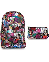 Loungefly Disney Backpack Back Pack & Pencil Case Bundle Set