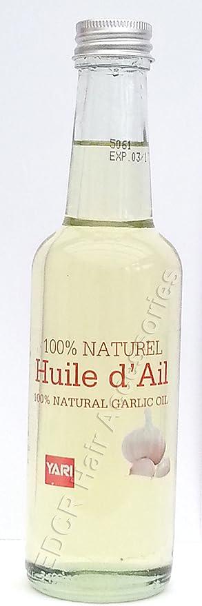 Yari 100% Natural Garlic Oil For Body And Hair 250ml: Amazon.co.uk: Beauty