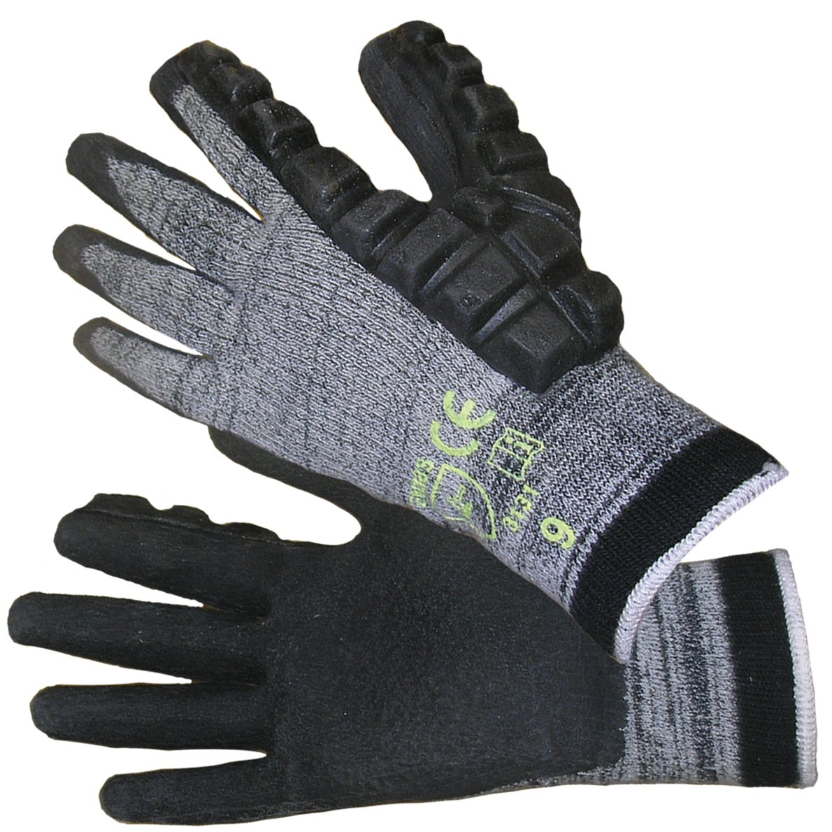 Impacto DP470031 Anti-Impact Hammer Glove, Grey