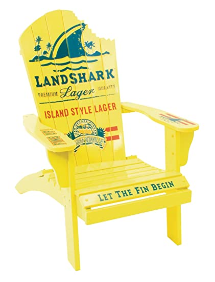 Margaritaville Outdoor Adirondack Chair, Landshark