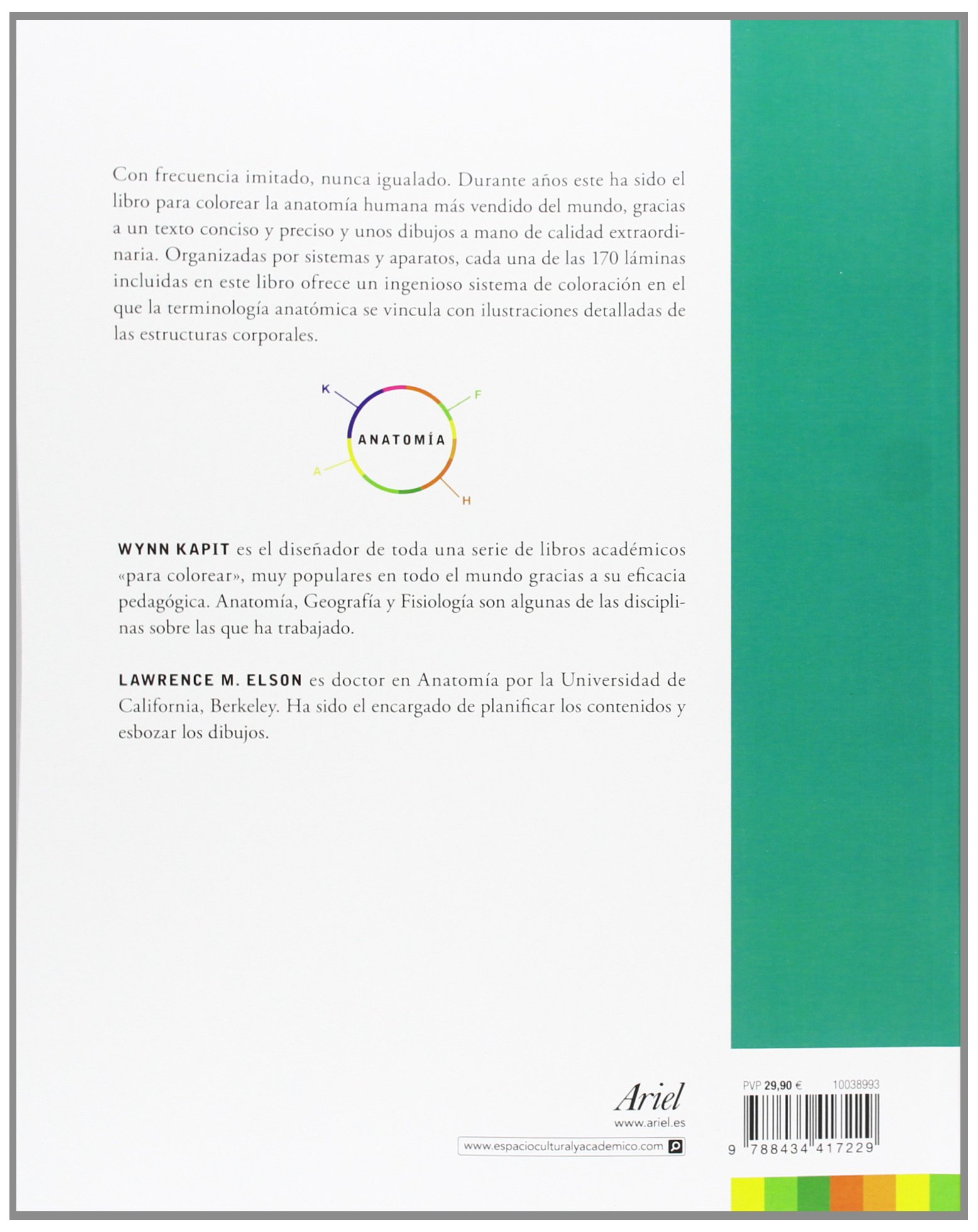 Anatomía. Libro de trabajo (Ariel): Amazon.es: Wynn Kapit, Lawrence ...