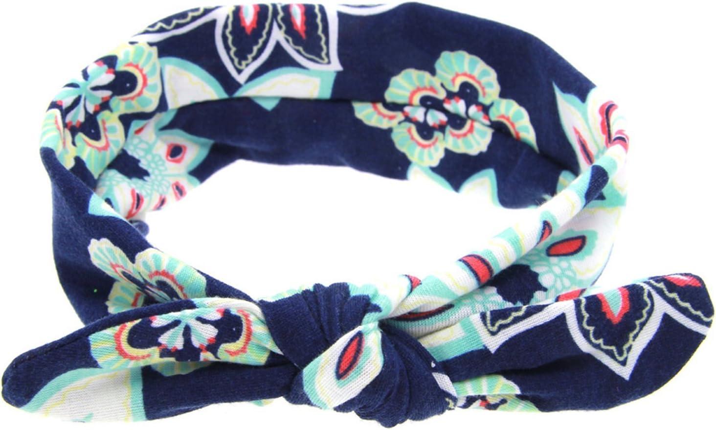 a turbante confezione da 4 Txian fasce per capelli per bambini e neonati