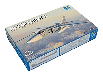 Amazon.com: Trumpeter 1/72 01673 Su-24M Fencer-D: Toys & Games