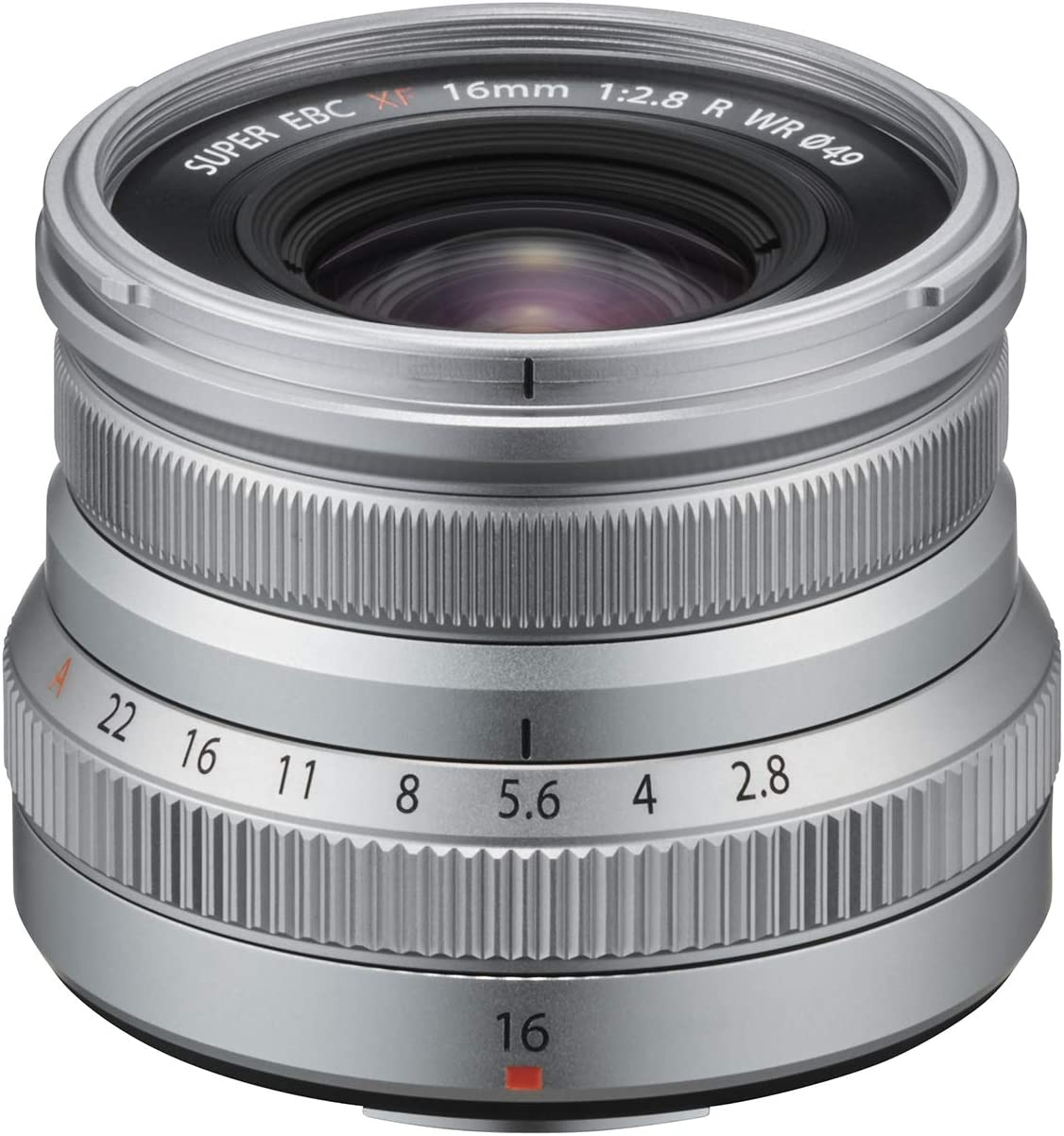 Fujinon XF16mmF2.8 R WR Lens - Silver