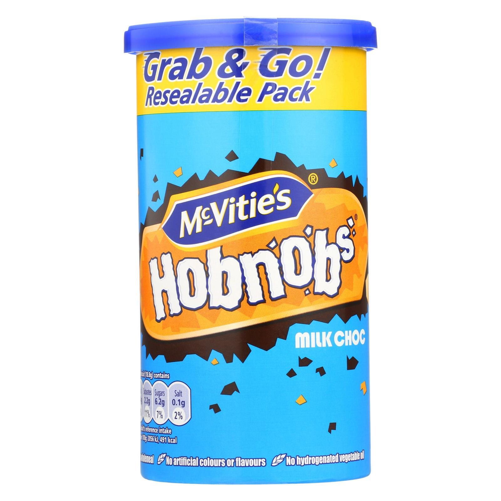 Mcvities, Hobnob'S Chocolate, Pack of 12, Size - 7.2 oz, Quantity - 1 Case