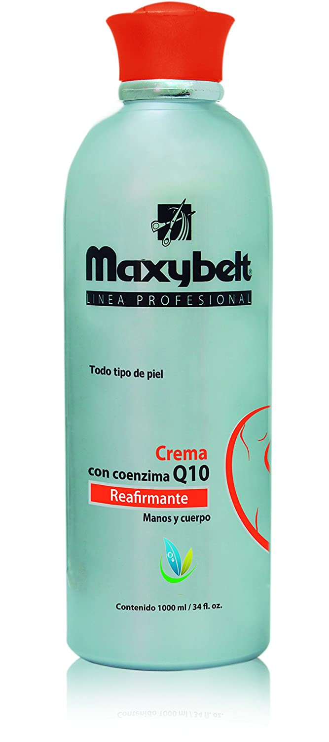 Amazon.com : Maxybelt moisterizer body cream It firms the skin with Q 10 Vitamin E, Pantenol and Sylicon From Colombia.33.3 oz : Beauty