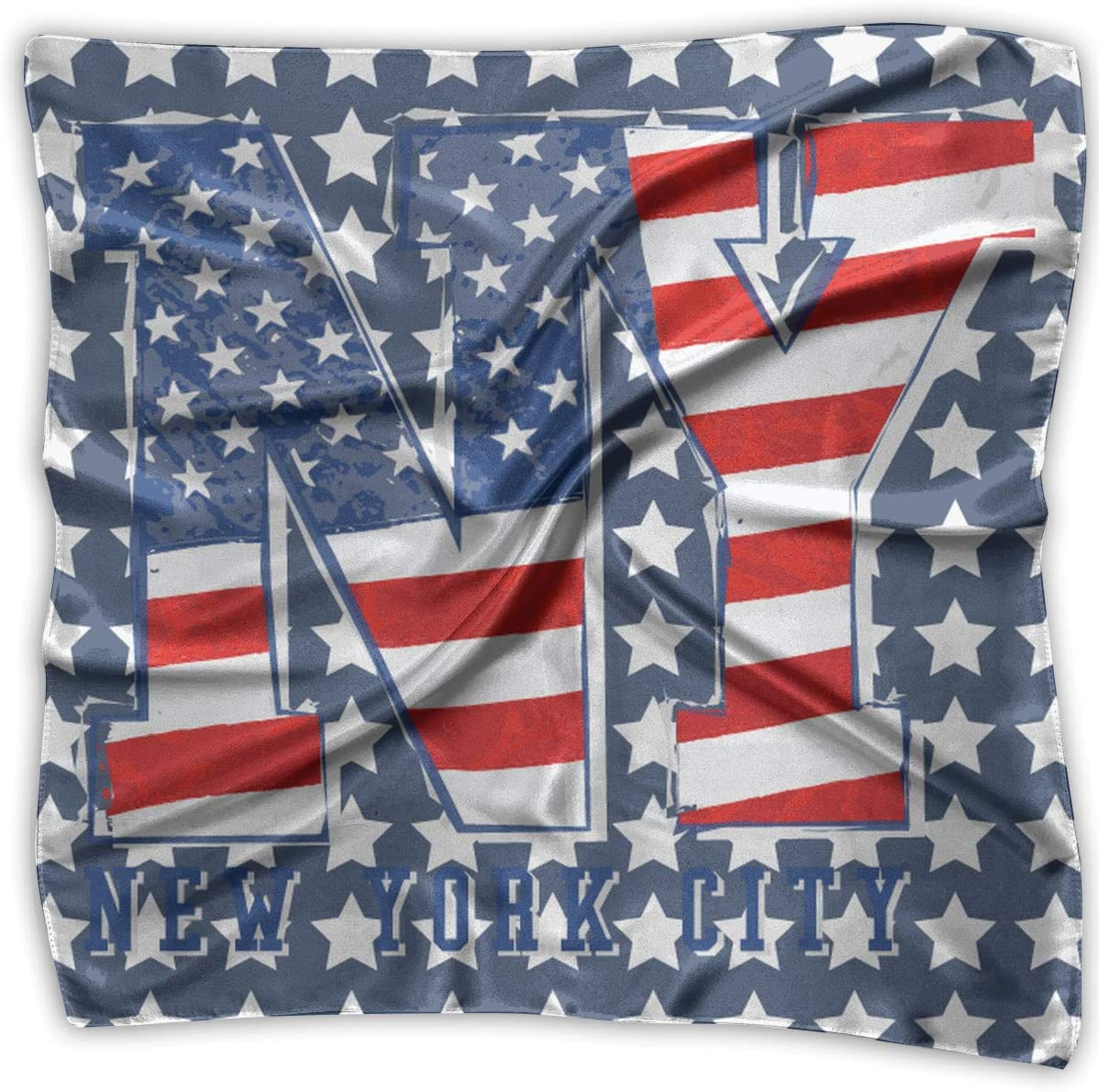 USA America Flag Stars And Stripes Fashion Neck Scarf Birthday Wedding Gift