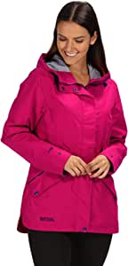 Regatta Women's Basilia Waterproof and Breathable Hooded Outdoor Jacket