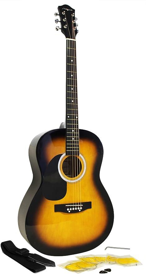 Paquete de guitarra acústica para sordos con cuerdas Martin Smith ...
