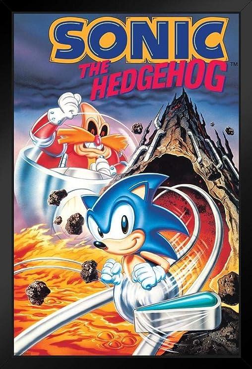 Bilder Drucke Sonic The Hedgehog Poster Gaming Room Wall Decor Print Pc Game Art No Framed Mobel Wohnen Elin Pens Ac Id