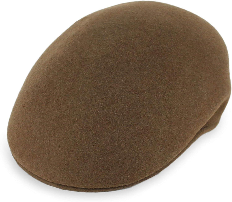Belfry Ascot Molded Wool Ivy Cap Black Grey Navy Pecan