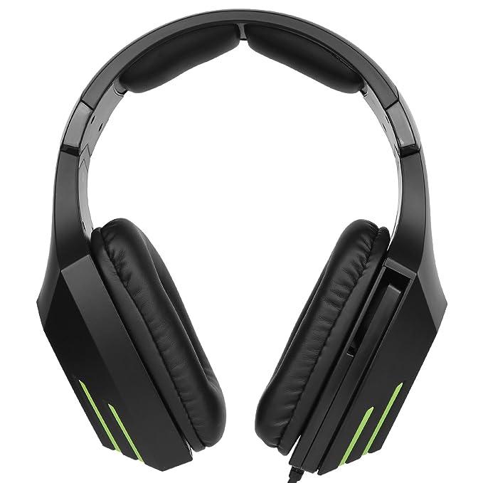 SUPSOO G820 Xbox One PS4 Estéreo Juego Auriculares Bass Gaming Headsets con micrófono de aislamiento de ruido para Xbox nuevo PS4 PC portátil Mac iPad iPod ...