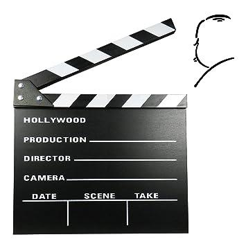 Claqueta Director de Cine con Superficie de Pizarra para ...