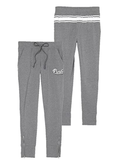 e32f96bca331e Victoria's Secret Pink Skinny Yoga Pants, Gray, XSmall at Amazon ...