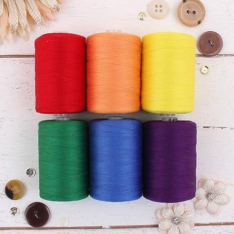 Threadart - Juego de hilos de algodón 100% para coser y acolchar ...