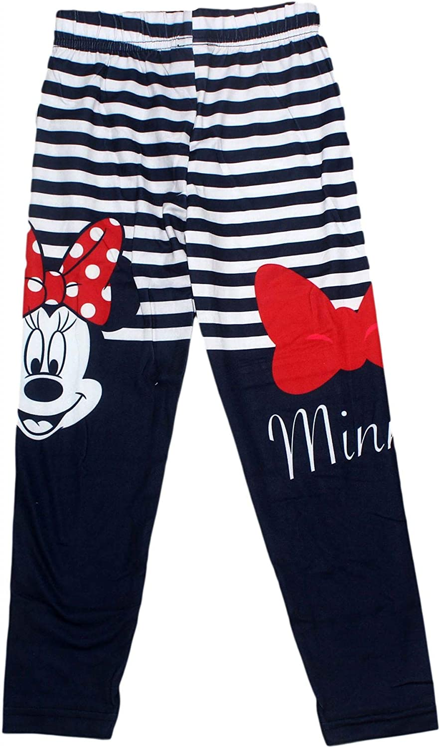 Stripes Pattern New 2018//19 Disney Minnie Mouse Character Girls Leggings Tights Full Length 3-8 Years Polka Dots