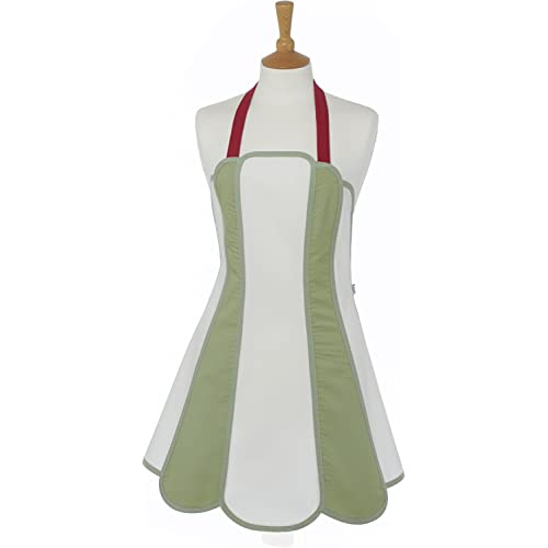 Caley Willow Panel Retro Apron by C'est Ca!