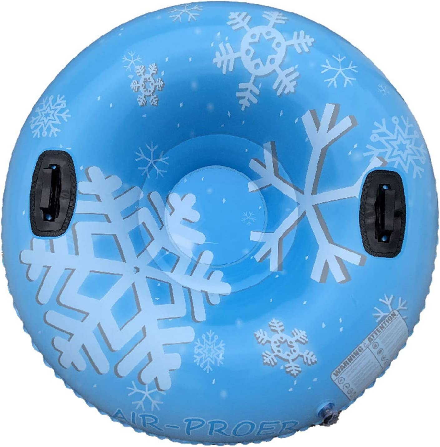 Towable Freeze-Proof /& Wear-Resistant Snow Tube with 2 Handles PVC Tire Tube Winter Thickening Skiing Ring 5665 Snow Tubes for Sledding Kids /& Adults Heavy Duty 47 Outdoor Inflatable Snow Sled