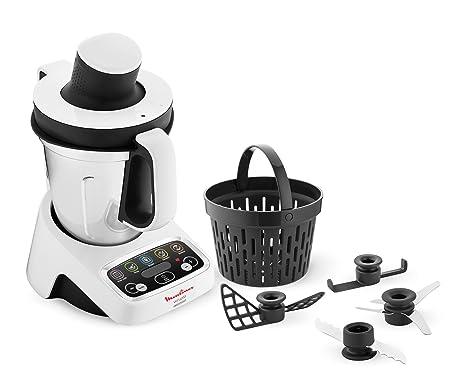Moulinex HF4041 Volupta Robot da Cucina Multifunzione con Cottura, 5 ...