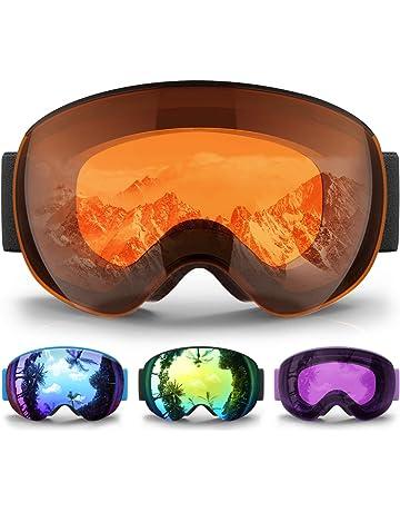 eDriveTech Masque de Ski Homme Femme, Lunette Masque Ski Lunettes de Ski  pour Homme Femme 1059e5a59eb1