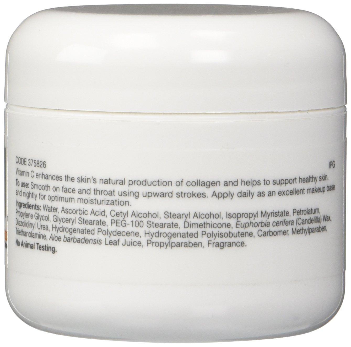 Gnc Vitamin C Moisturizing Cream 2 Oz Beauty White Vit Collagen