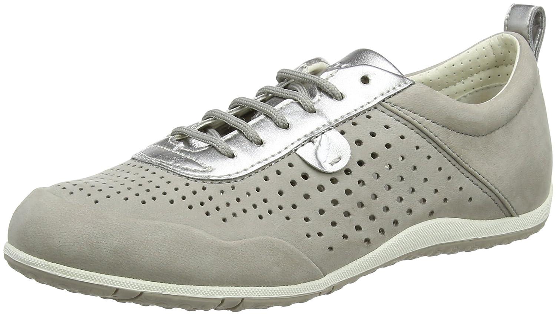 Geox D Vega B, Zapatillas para Mujer 41 EU Gris (Lt Grey)