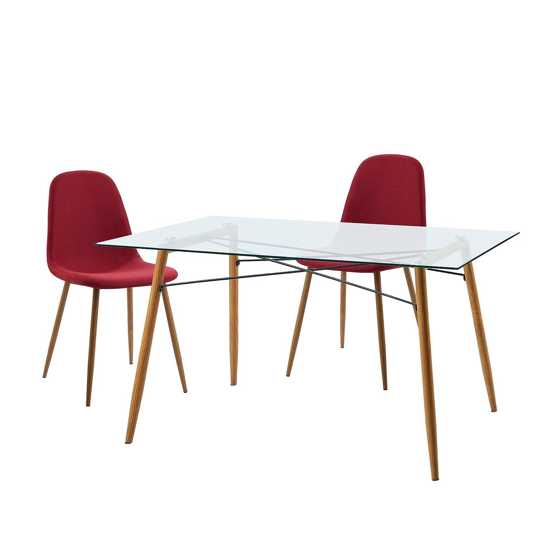 Amazon.com: Versanora VNF-00026SET-DG Minimalista Table ...
