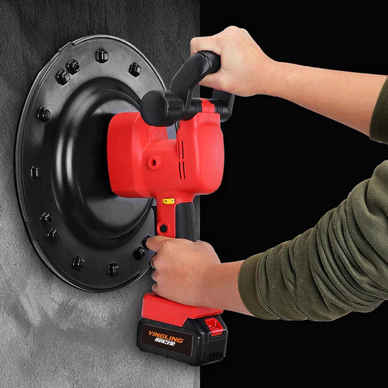 Kaafs Electric Sander 6 Speed Regulation 110 V 60Hz For Wall Mortar Surface Construction 120/° Adjustable Handle Drywall Sander Air Cooling