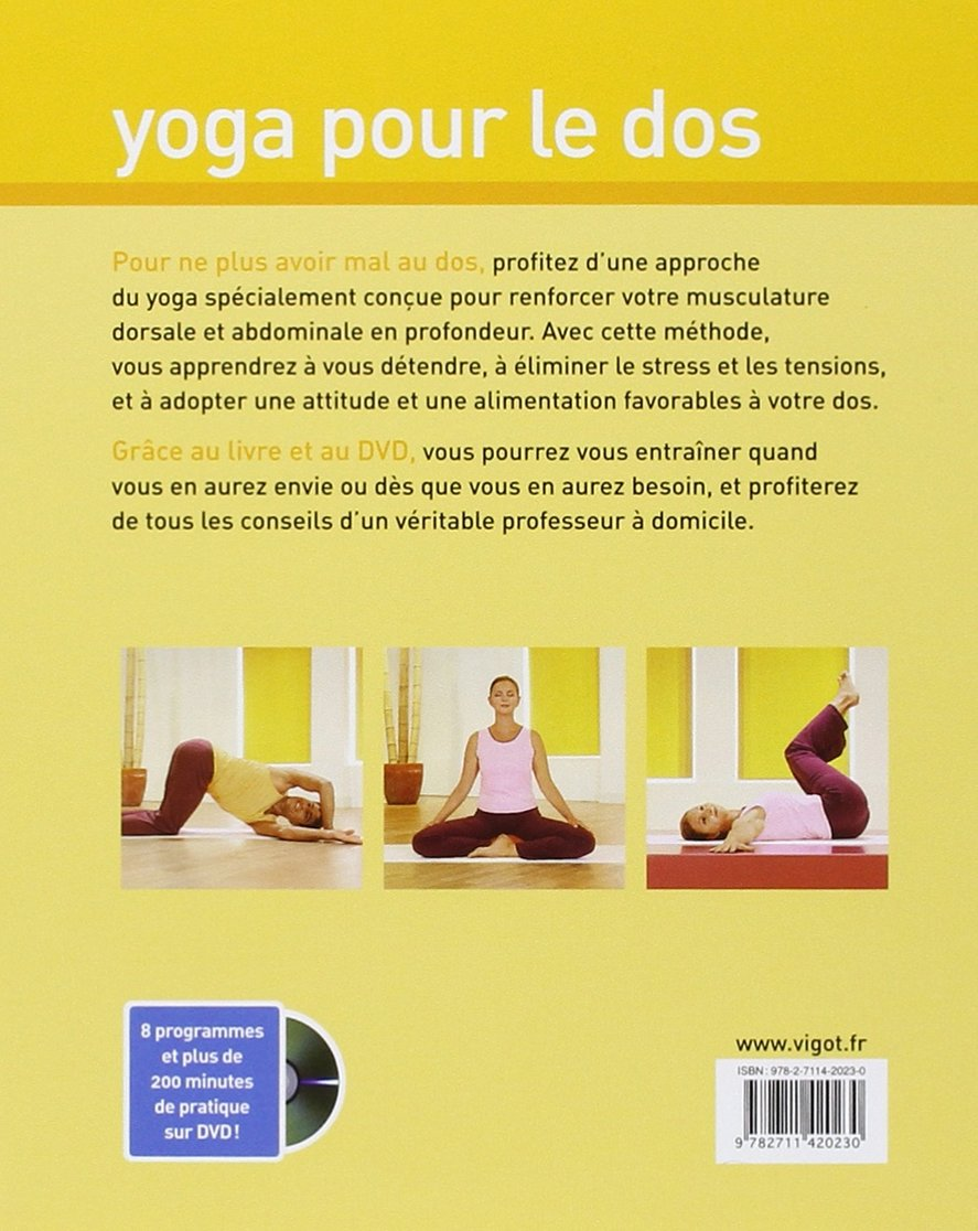 Yoga pour le dos (1DVD) (Energie & Sérénité): Amazon.es ...