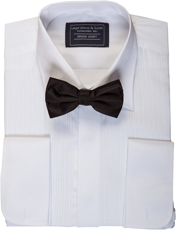 Richard Paul - Vestido de Mezcla de algodón para Hombre, Color Blanco y Negro
