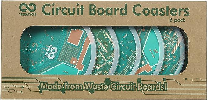 TerraCycle Circuit Board Coasters