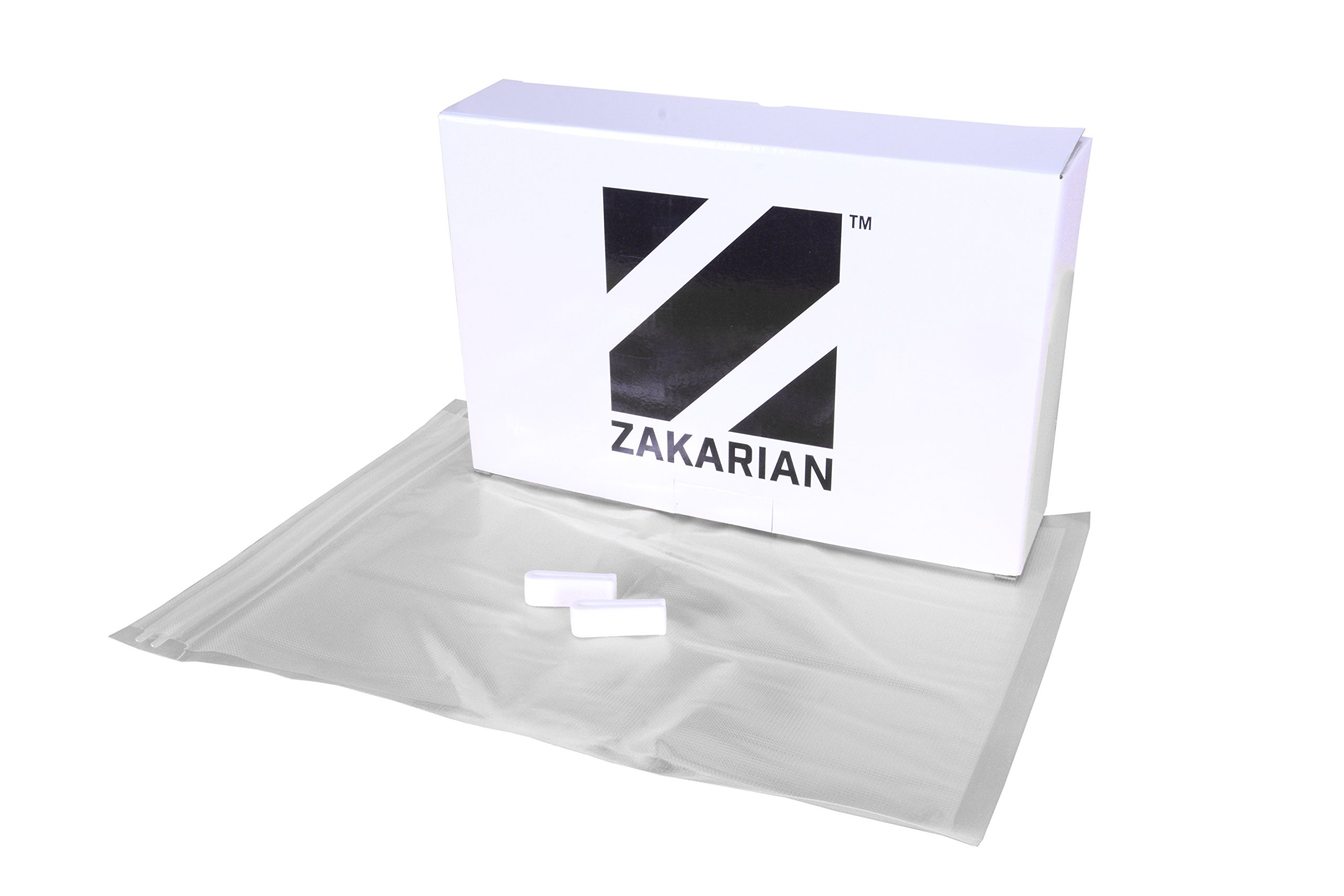 Zakarian Pro for Home Sous Vide Zip Top Bags, Quart or Gallon 25 Count by Chef Geoffrey Zakarian by Zakarian (Image #1)