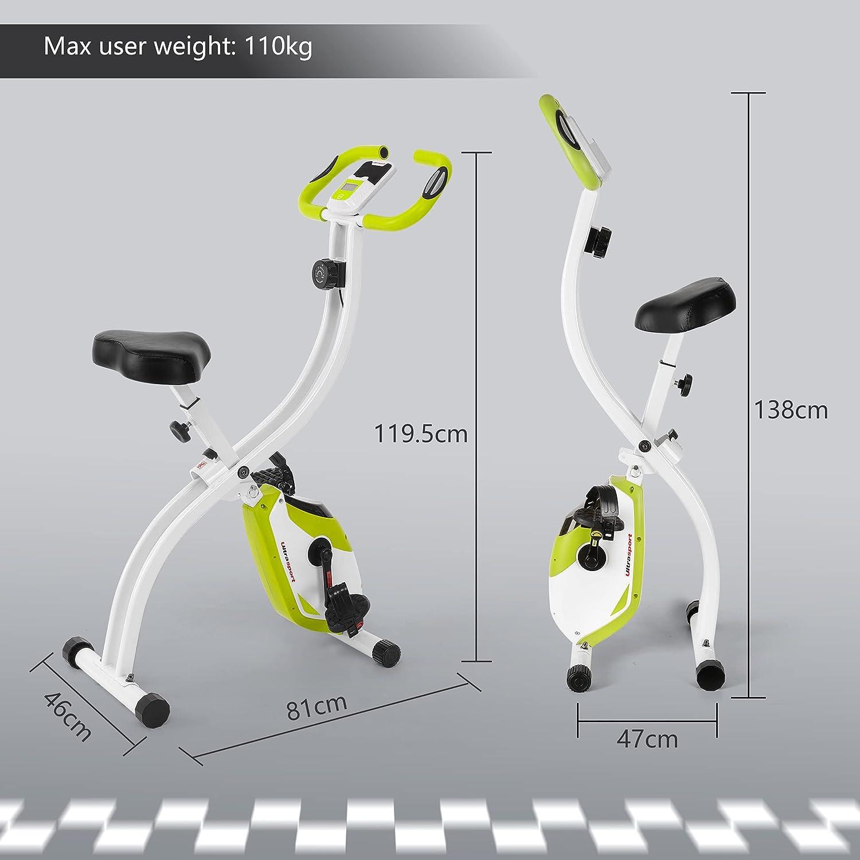 Ultrasport Heimtrainer F-Bike 150/200B - Abmessungen