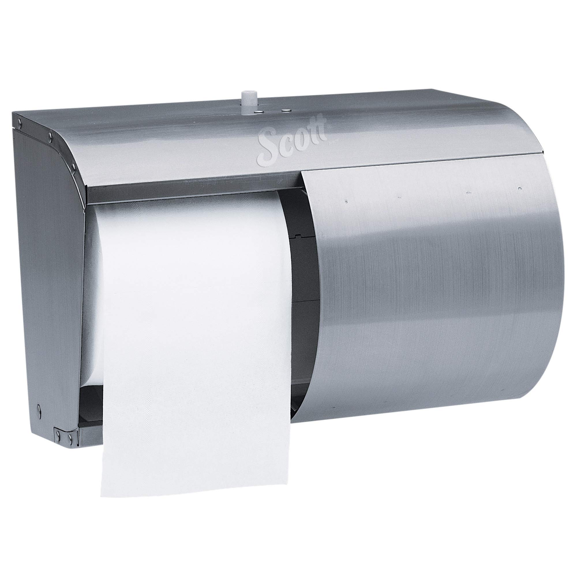 Scott 09606 Pro Coreless SRB Tissue Dispenser, 7 1/10 x 10 1/10 x 6 2/5, Stainless Steel by Scott