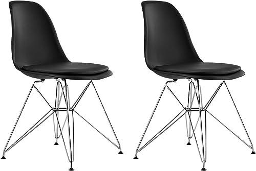 DHP Mid Century Modern Molded Chair