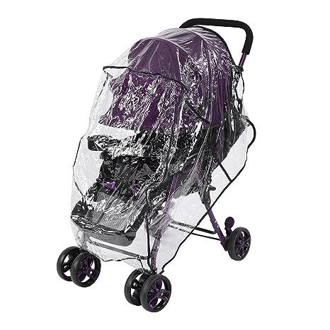 Funda universal para cochecito de bebé, cubierta de lluvia para la ...